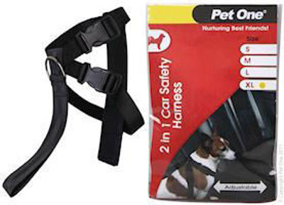 Picture of CAR SAFETY HARNESS TWO IN ONE 45CM